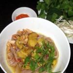Hương vị mì quảng cá lóc ở Sài Gòn