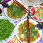 Món đặc sản Cháo lươn xanh Quảng Nam